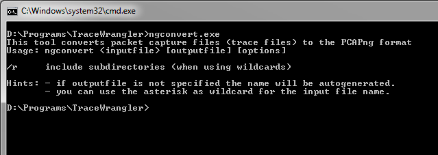 pcapng file viewer